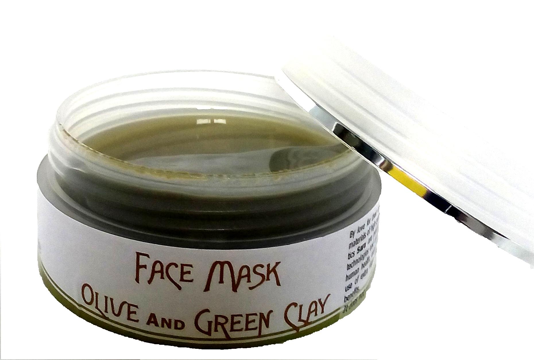 Maschera viso argilla 2
