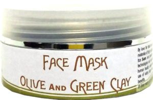 face mask, face mask sara cosmetics, face mask olive oil, face mask green clay, cosmetics olive oil